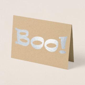 Boo! Folienkarte