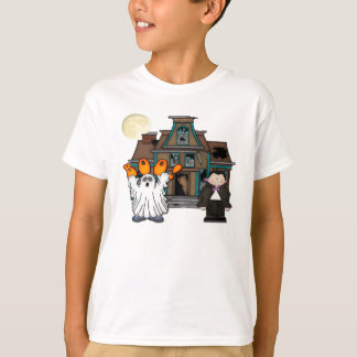 Boo-Geist Dracula Halloween T-Shirt