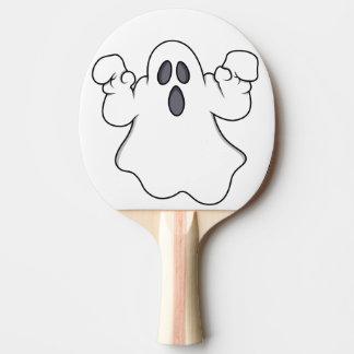 Boo! Gespenstischer Halloween-Geist Tischtennis Schläger