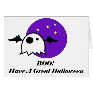 BOO große Halloween-Karte Karte