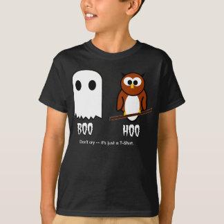 Boo Hoo Geist und Eule T-Shirt