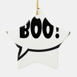 Boo Keramik Ornament