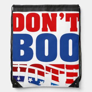 Boo nicht Abstimmung Turnbeutel