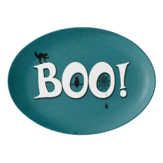 Boo! Porzellan Servierplatte