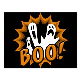 Boo! Postkarte