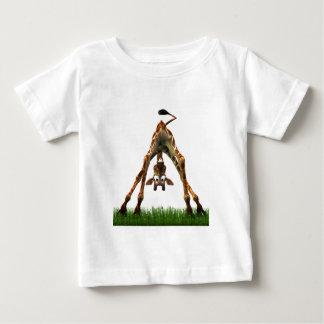 Boo! Sagt Olympia-Giraffe Baby T-shirt