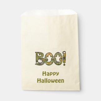 BOO u. glückliche kundenspezifische Halloween Geschenktütchen