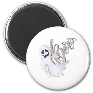 Boo und Geist Runder Magnet 5,7 Cm