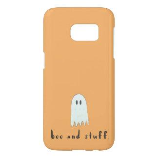 """""""Boo-und Material-"""" orange Geist Halloween"""