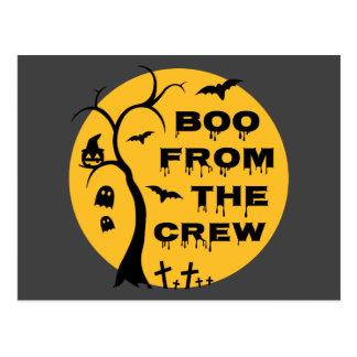 Boo von der Crew Postkarte