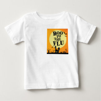 Boo zur Grippe Baby T-shirt