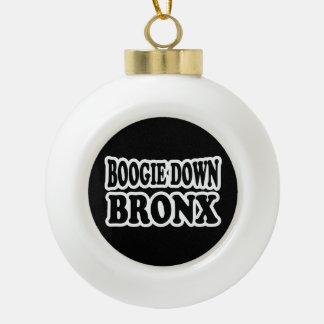Boogie unten Bronx, NYC Keramik Kugel-Ornament