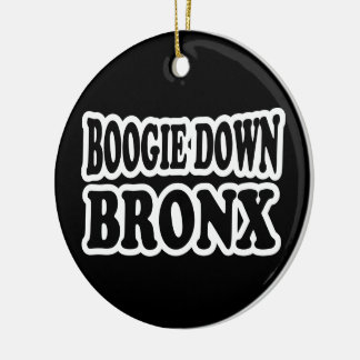 Boogie unten Bronx, NYC Keramik Ornament