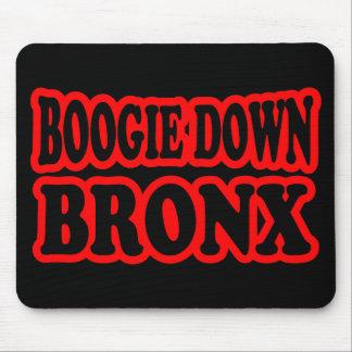 Boogie unten Bronx, NYC Mousepads
