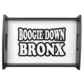 Boogie unten Bronx, NYC Tablett
