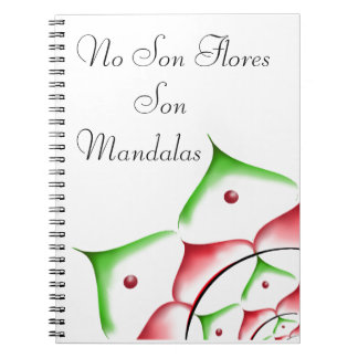 book sind nicht Blumen, sind an~ordnen sie Spiral Notizblock