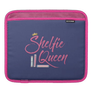 Booklover Shelfie Königin iPad Sleeve