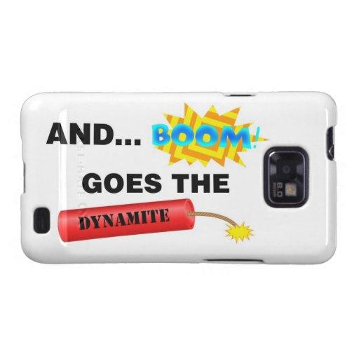Boom geht der Kasten Dynamit-Samsung-Galaxie-S Galaxy S2 Cover