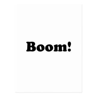 Boom! Postkarte