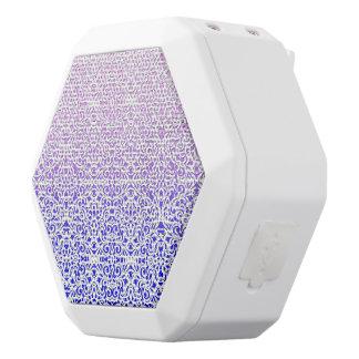 Boombot Rex Lautsprecher-Damast-Art Weiße Bluetooth Lautsprecher