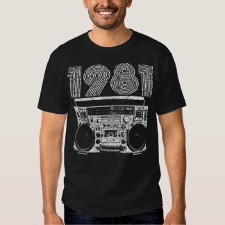 Boombox 1981 t-shirt