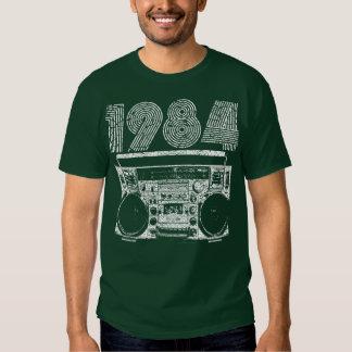 Boombox 1984 hemden