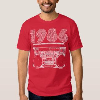 Boombox 1986 tshirt