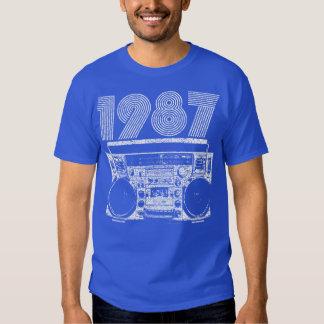 Boombox 1987 tshirt