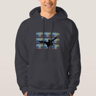 Boombox B-Junge Kapuzensweatshirt