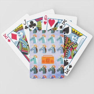 BoomBox Einhorn Bicycle Spielkarten