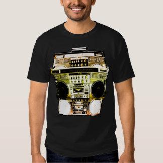 Boombox Farbe verblassen (Gold) Hemd