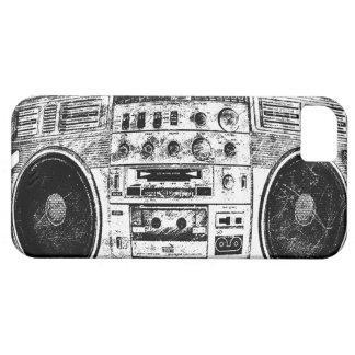 Boombox Graffiti iPhone 5 Etuis