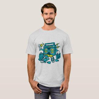 Boombox Karaoke-Meister von der Haube T-Shirt