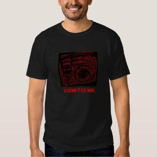 Boombox, Kickin es altes Skool T Shirts