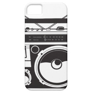 ☞ Boombox Oldschool / Cassette Player iPhone 5 Etui