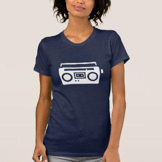 Boombox Piktogramm-T - Shirt