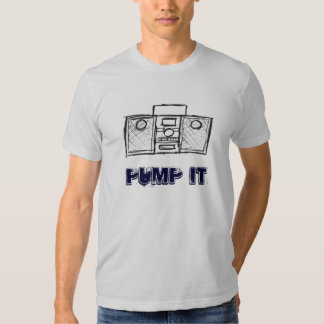 "Boombox ""Pumpe es "" T Shirts"