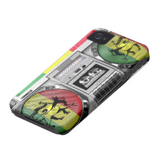 boombox Reggae iPhone 4 Hüllen