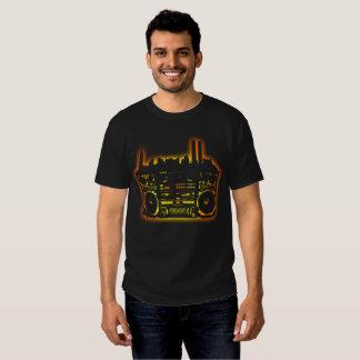 Boombox Stadt-Kunst Hemd
