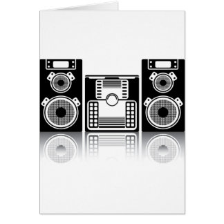 BoomBox Stereolithographie Karte
