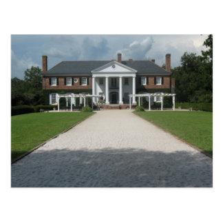Boone Hall Plantage, Charleston Sc-Postkarte Postkarte