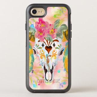 BooPooBeeDoo Büffelschädel OtterBox Symmetry iPhone 8/7 Hülle