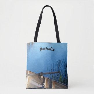Boot auf der See-Taschentasche Tasche