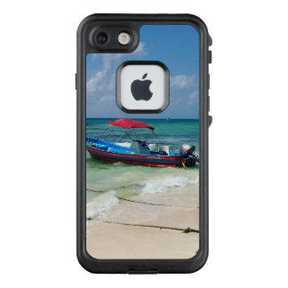 Boot auf Playa del Carmen in Mexiko LifeProof FRÄ' iPhone 8/7 Hülle