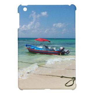 Boot auf Playa del Carmen iPad Mini Hülle