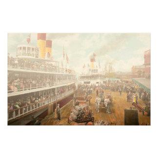Boot - Ferien zum sich zu erinnern - 1901 Druckpapiere