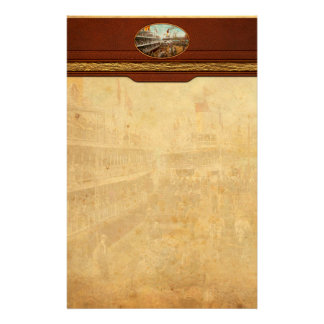 Boot - Ferien zum sich zu erinnern - 1901 Individuelles Büropapier