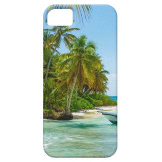 Boot in Karibischen Meeren iPhone 5 Etui