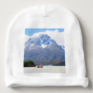 Boot und Berge, Patagonia, Chile Babymütze