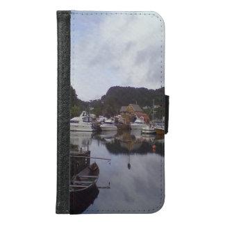 Boot und Meer Samsung Galaxy S6 Geldbeutel Hülle